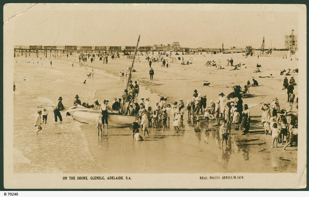 On the shore, Glenelg, Adelaide, S.A