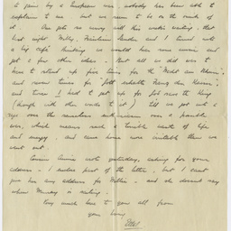 Letters from C.E. Cooper