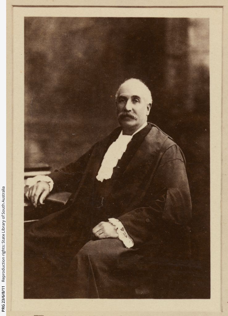 Portrait of Sir J.L. Stirling (President).