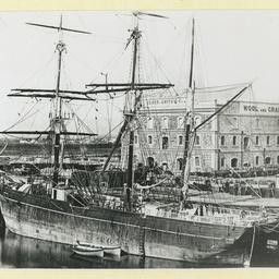 The 'Joliba' at Port Adelaide