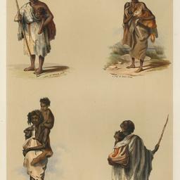 Portraits of the Aboriginal inhabitants