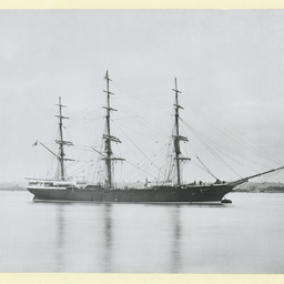 The 'Fernglen' moored at Gravesend, U.K.