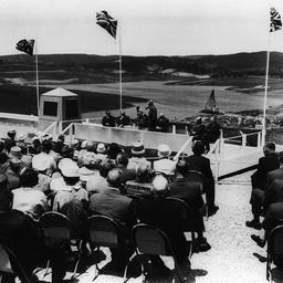 Opening of Myponga Dam