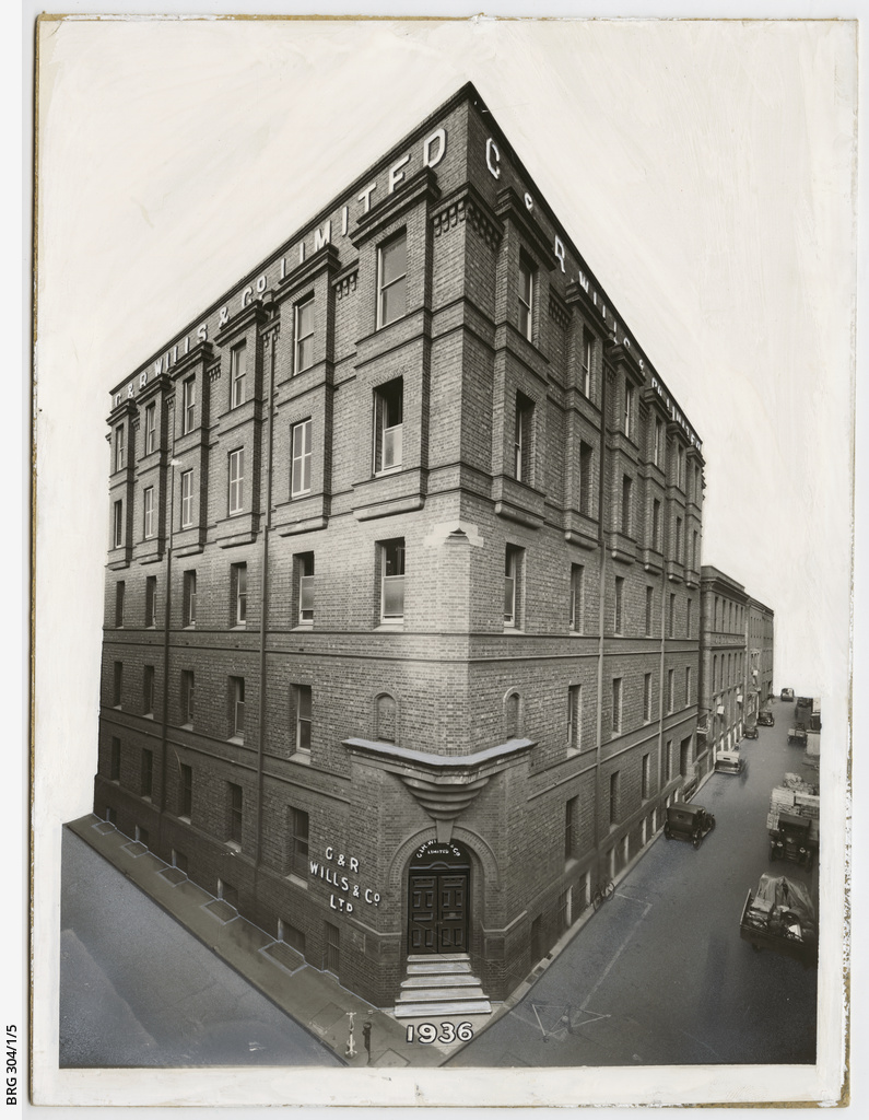 Head office of G. & R. Wills & Co. Limited, Gawler Place
