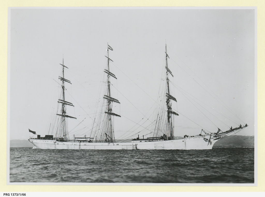 The 'Fort Stuart' in an unidentified harbour