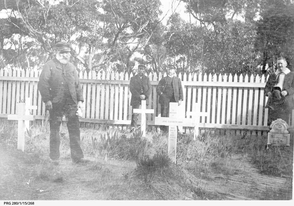 The cemetery at Cape Borda, South Australia