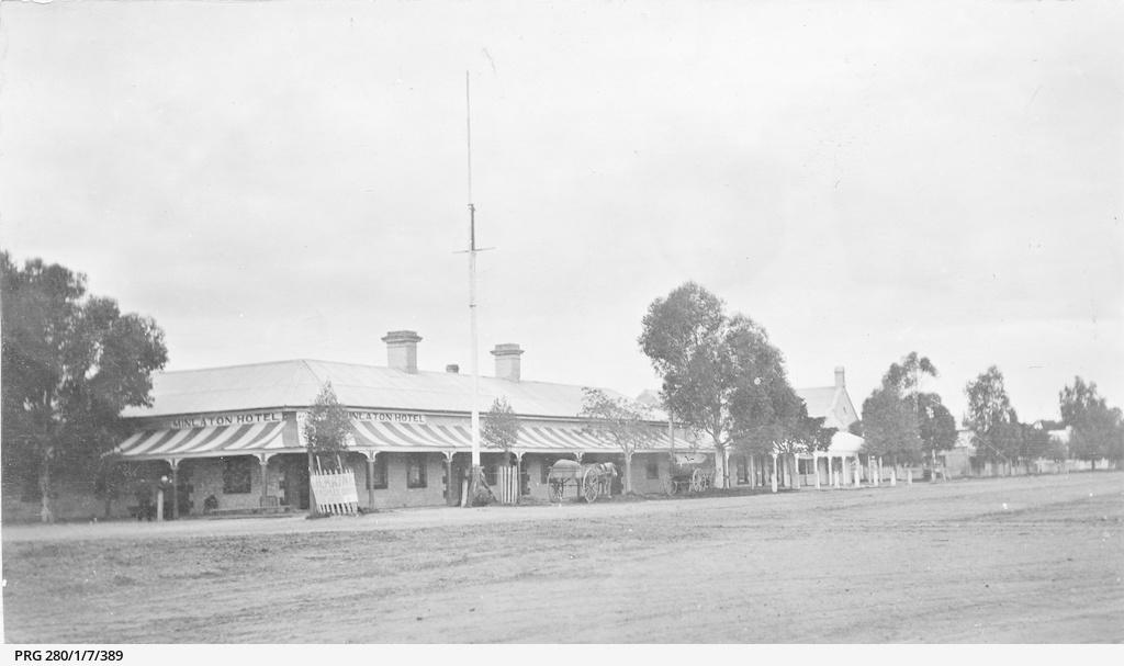 The main street at Minlaton on the Yorke Peninsula, South Australia