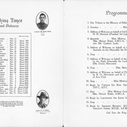 Programme of an evenings entertainment at the Tivoli Theatre, Grote Street, Adelaide.