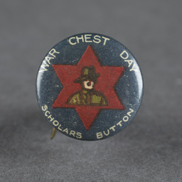 World War 1 era campaign button badges