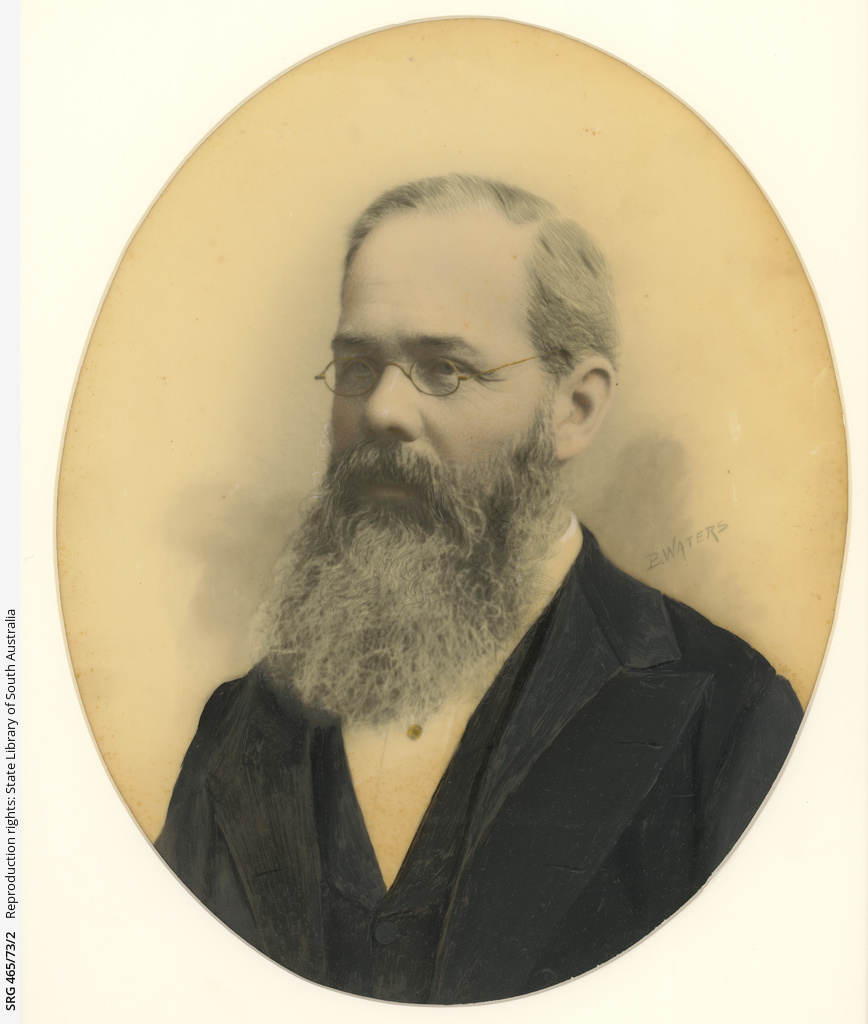 Unidentified man wearing spectacles
