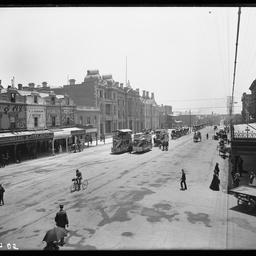 King William Street, near Rundle Street