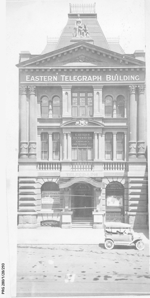 The Eastern Telegraph building, Adelaide, South Australia