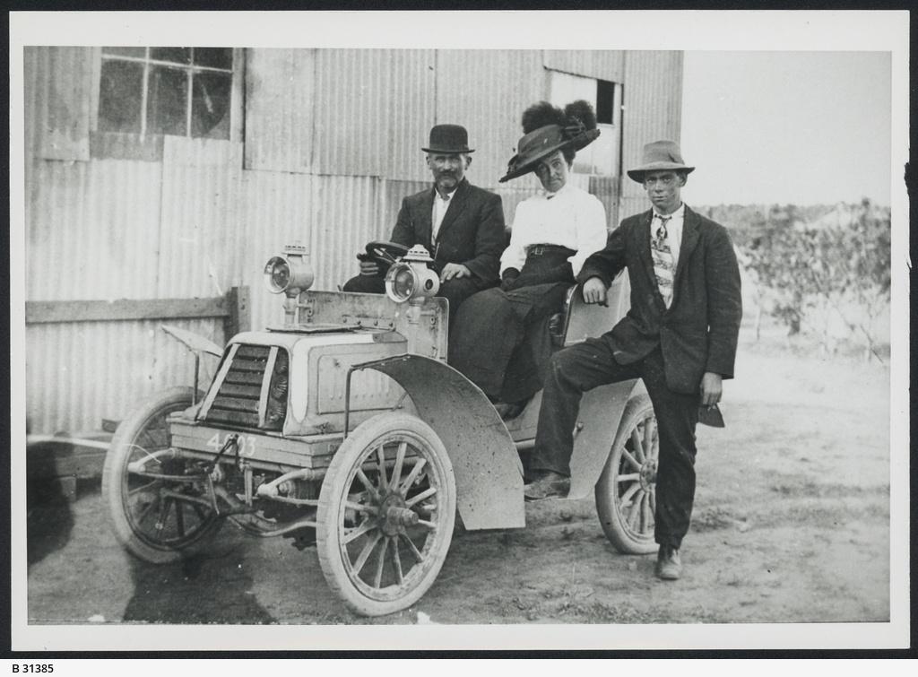 De Dion Car, Woodville