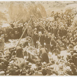 Burial of the late Hon. C.J. Rhodes