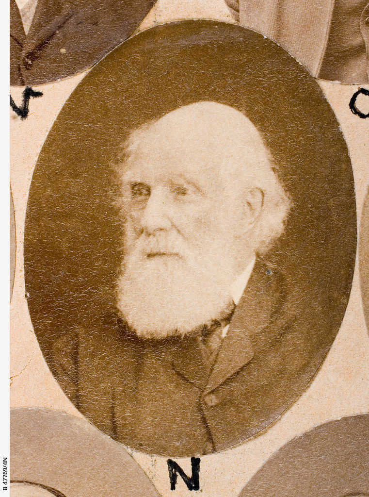 The Old Colonists Banquet Group : John Soames Willshere Roberts, Snr