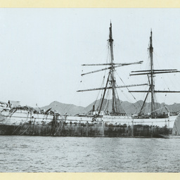The 'Juteopolis' after being dismasted