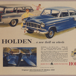 Holden FC advertisement for the Australian Women's Weekly