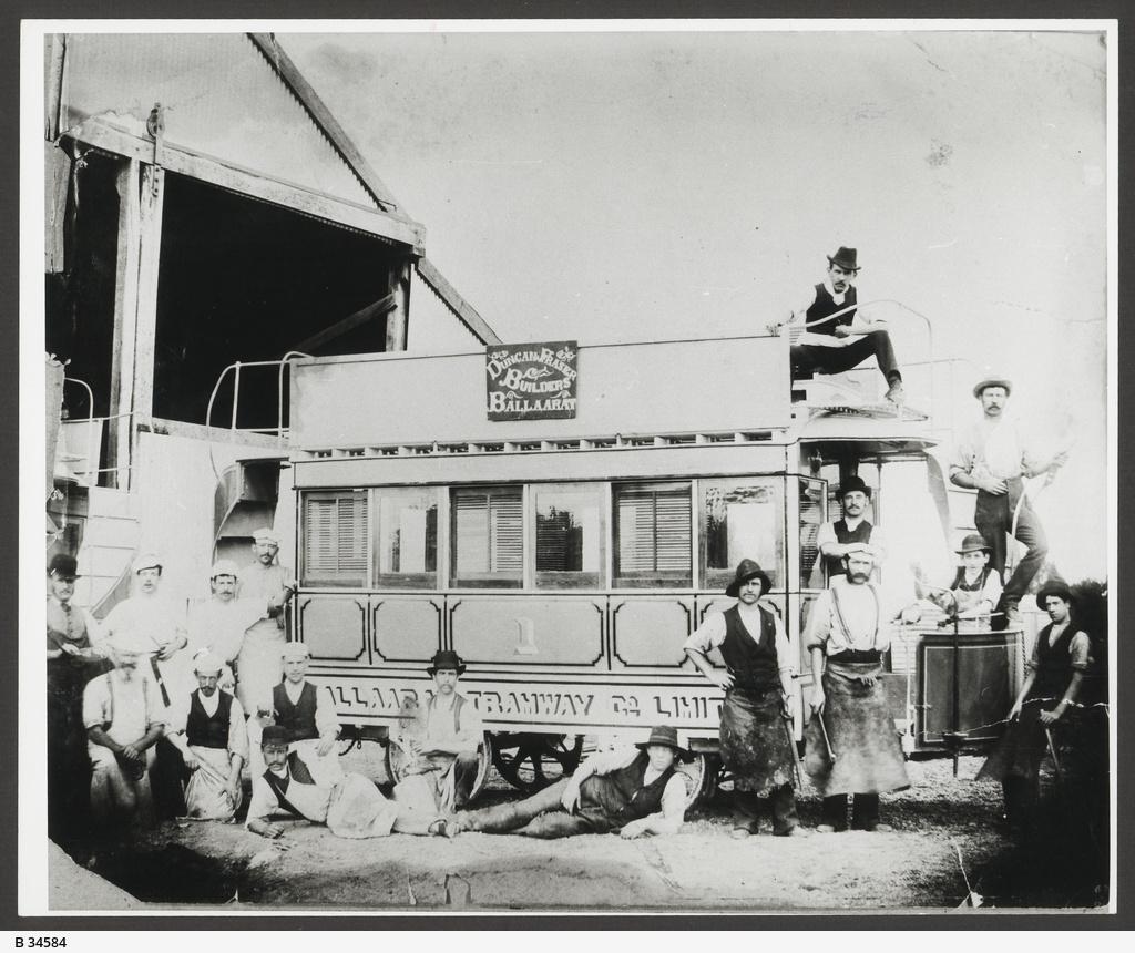 Duncan and Fraser Tram