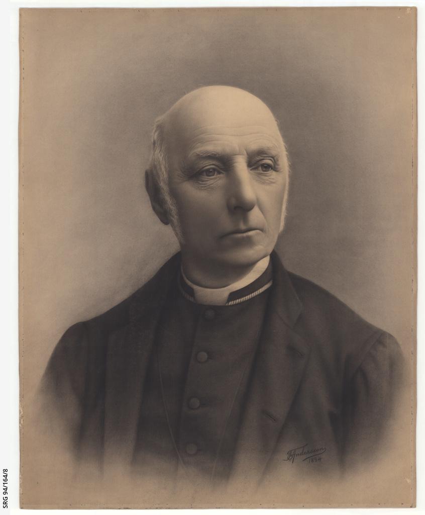 Portrait of the Reverend Charles Marryat