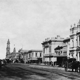 Adelaide Views : Bank of South Australia