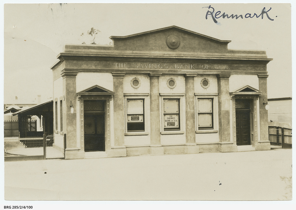 Savings Bank of S.A. at Renmark