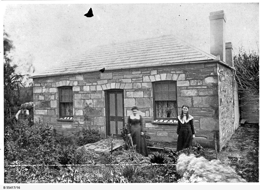 Willunga residence of the Meverley family