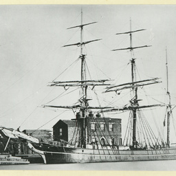 The 'Cereal' docked in an unidentified port