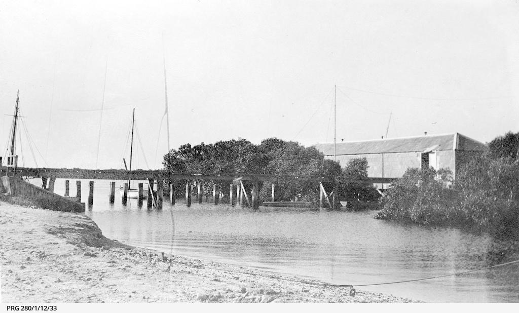 Explosives depot at Port Adelaide, South Australia