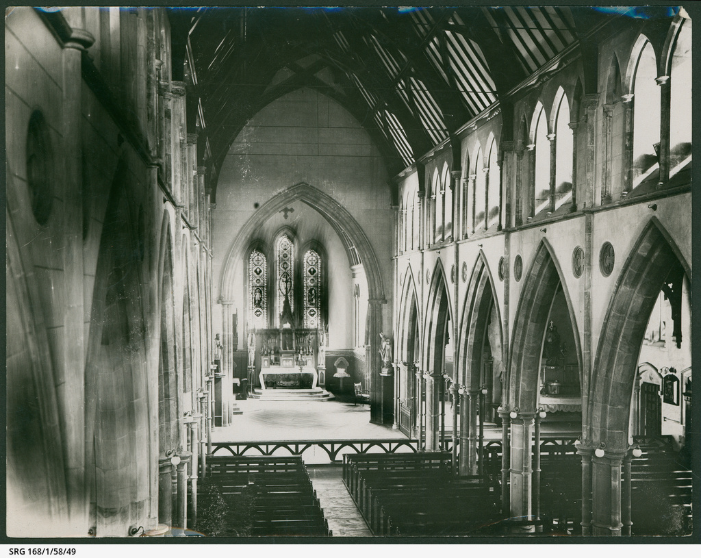 Interior of St. Francis Xavier Catholic Cathedral, Adelaide