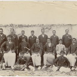 Group of young Indian men