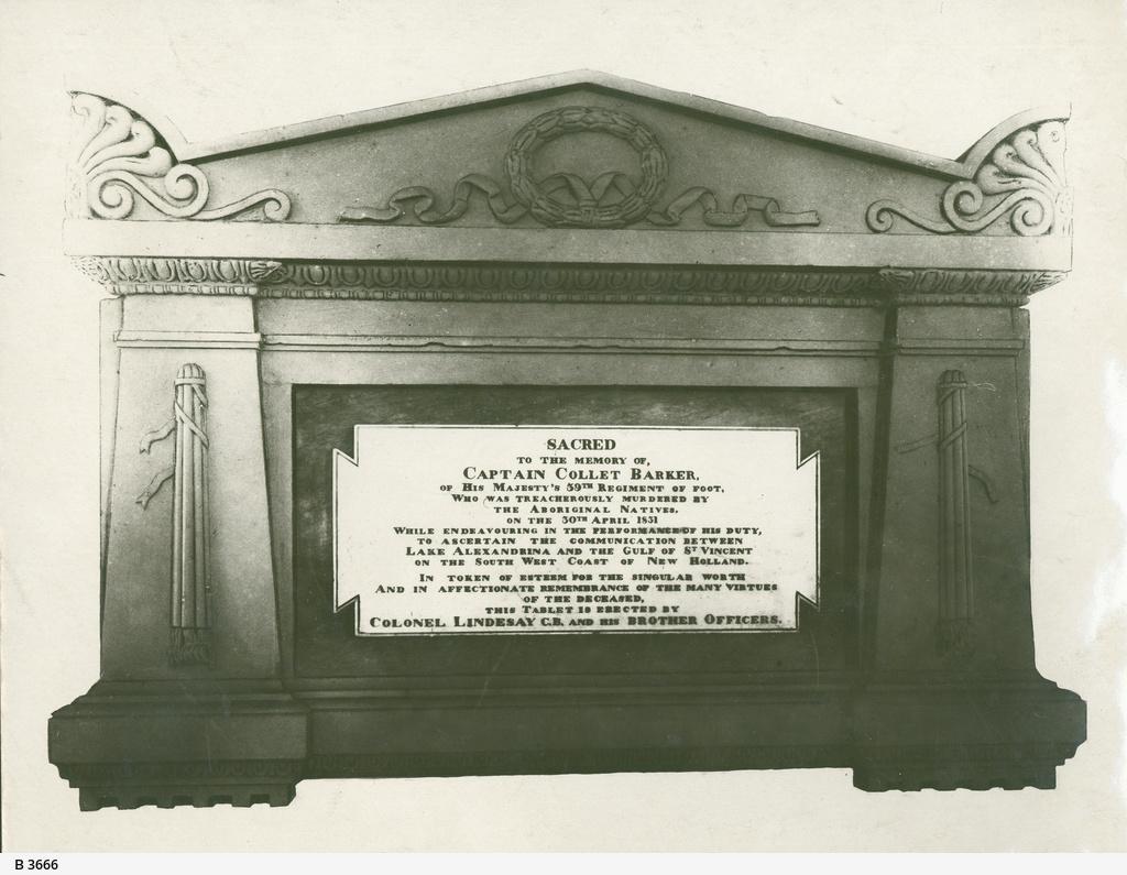 Captain Barker Memorial