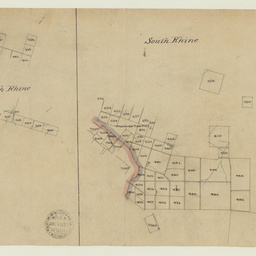 [Tracing showing sections in Hundreds of Moorooroo, North Rhine, South Rhine, Kanmantoo, Monarto and Talunga (parts)] [cartographic material]