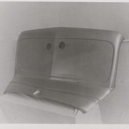 Sedan cowl front end panel.