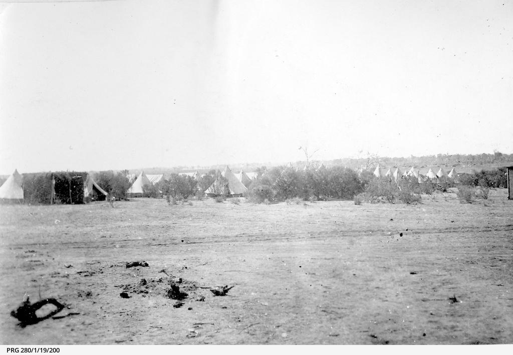 Military camp at Lone Gum, South Australia