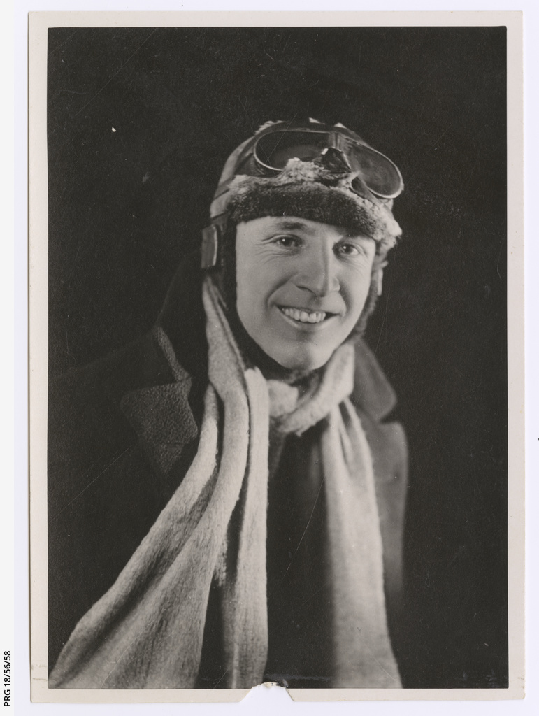 Sir Ross Smith in flying gear