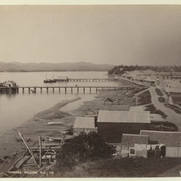 'Tauranga' Auckland in the 1880's