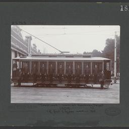 Toast rack tram, Hackney Depot