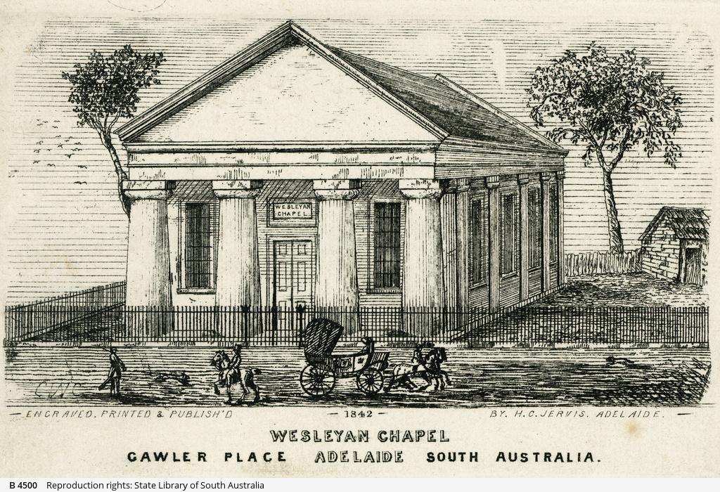 Wesleyan Chapel, Gawler Place, Adelaide
