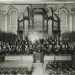 Orchestra at Adelaide Town Hall