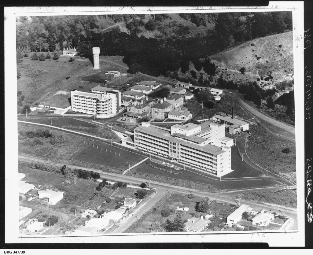 Hospital complex at Mount Gambier