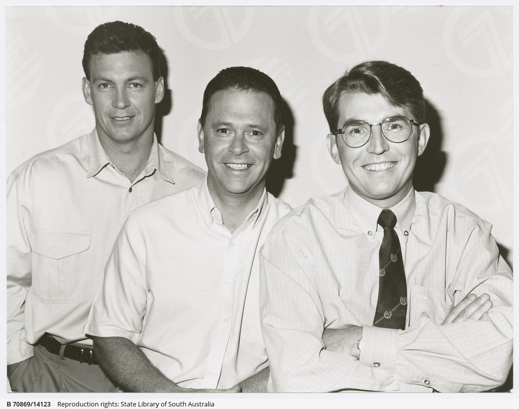 Channel 7s left to right bruce abernethy max stevens andy kay channel 7s left to right bruce abernethy max stevens andy kay altavistaventures Image collections