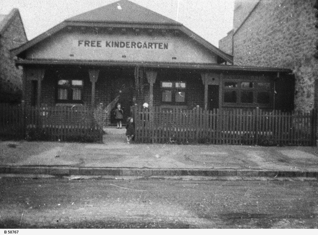 Premises of the Free Kindergarten School, Adelaide