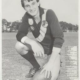 Footballer Tony Hall