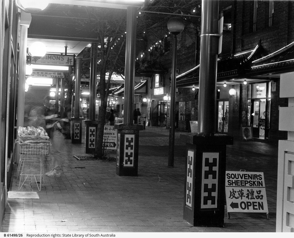 'China Town' at the Adelaide Central Market