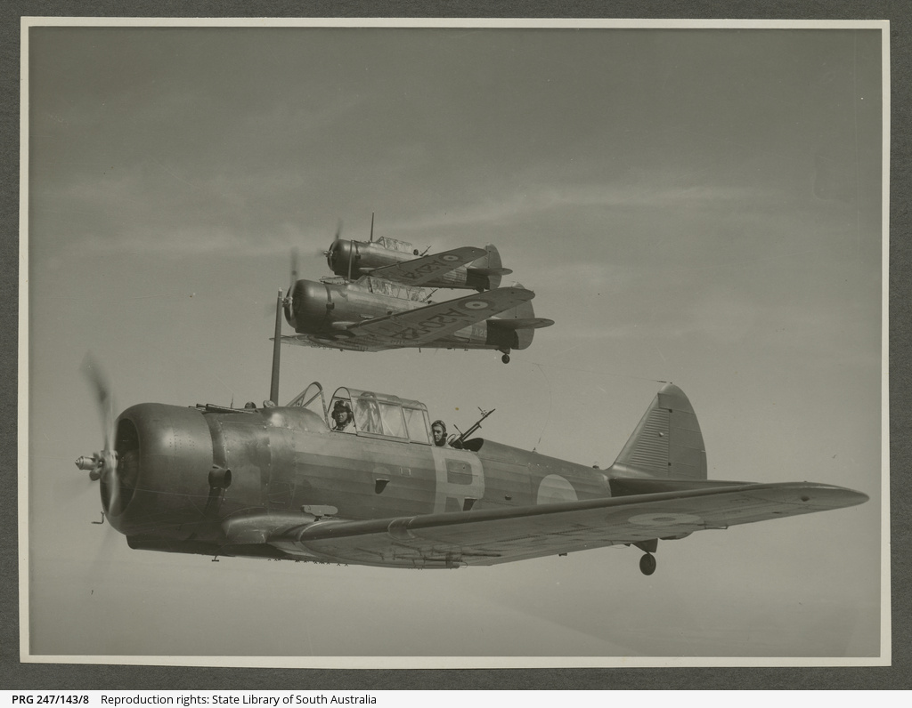 CA-1 A20 CAC Wirraway formation.