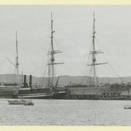 The 'Sierra Blanca' in an unidentified port
