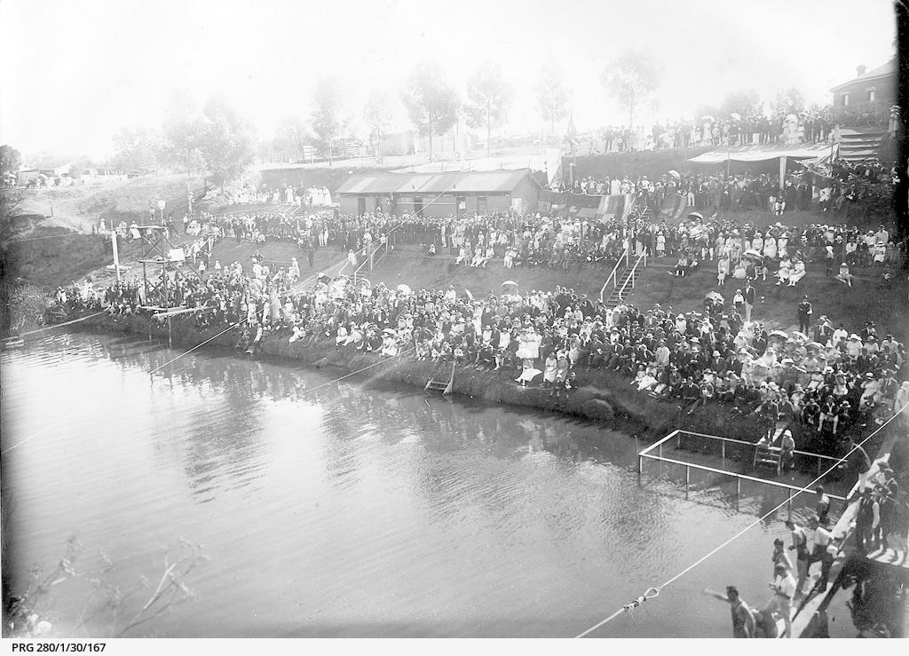 Swimming gala at Gilberton, South Australia