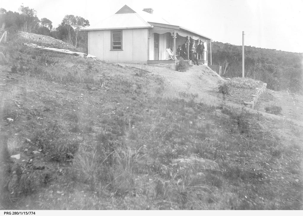 A small house at American River, Kangaroo Island