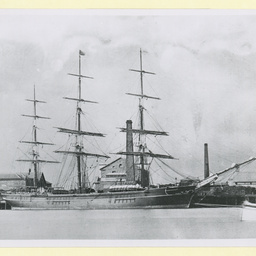 The 'Coeur de Lion' at Port Adelaide