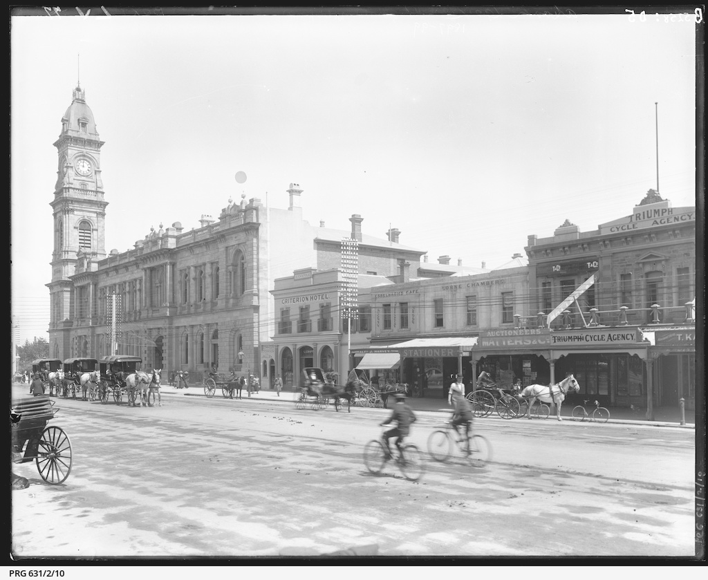 King William Street south of Pirie Street